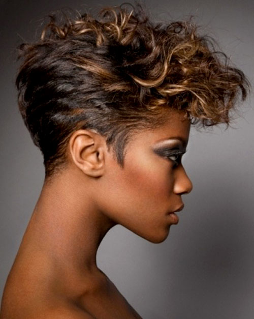 Astounding 15 Top Black Hairstyles For Fall 2014Black Hair Style Black Hair Short Hairstyles Gunalazisus