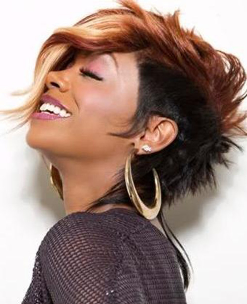 Awesome Cute Mohawk Hairstyles For Black Women 2014Black Hair Style Short Hairstyles For Black Women Fulllsitofus