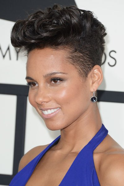 alicia-keys-grammys-hair