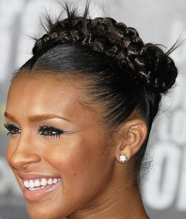 braid-bun-hairstyles-for-black-women-with-straight-hair | Black Hair ...