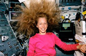 Astronaut Marsha Ivins