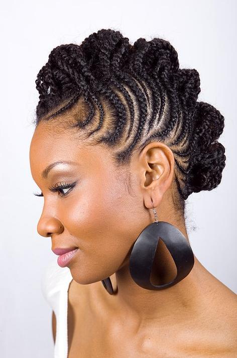 Pleasing Short Hairstyles For Black Women 2013Black Hair Style Black Hair Hairstyle Inspiration Daily Dogsangcom