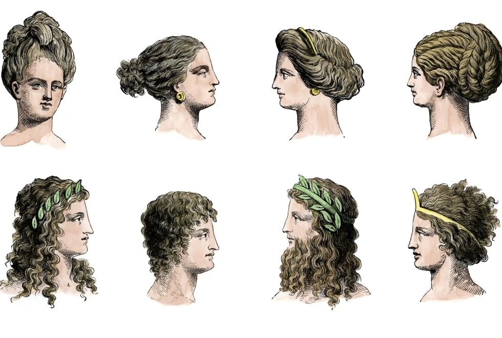 Miraculous Ancient Greek Hairstyles Of Women And Menblack Hair Style Black Short Hairstyles Gunalazisus
