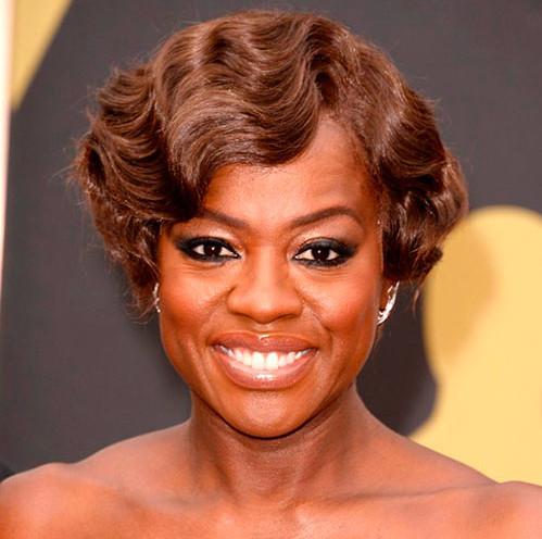 best-short-aa-hairstyles-Viola-Davis-Vintage-Inspired