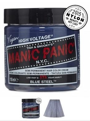 manic panic blue steel
