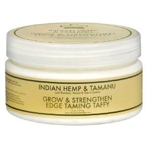 Try out Nubian Heritage's Indian Hemp & Tamanu Grow and Strengthen Edge Taming Taffy