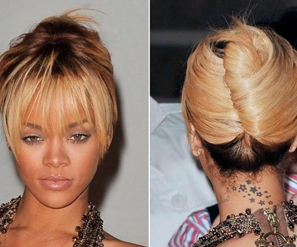 rihanna-hairstyles-of-french-twist