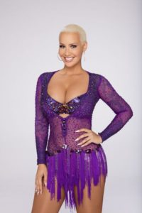 Amber on DWTS