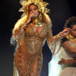 Beyonce depicting a goddess