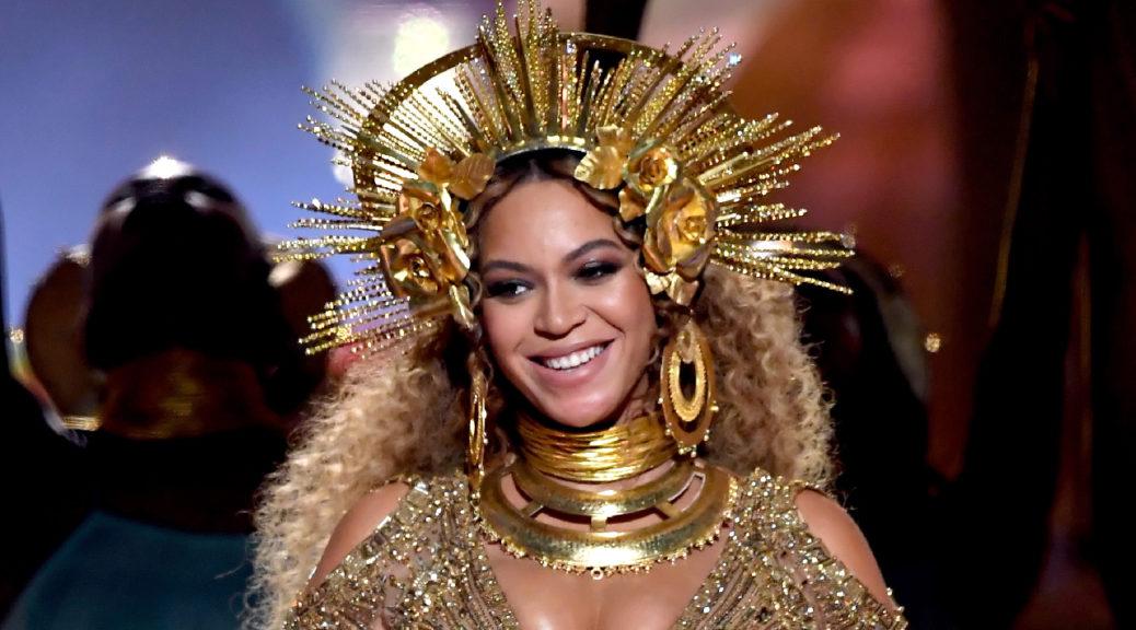 Beyonce at 2017 Grammys