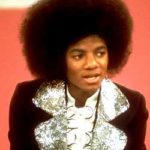 Micheal Jackson wore an Afro