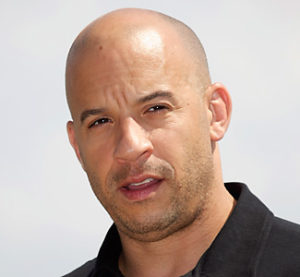 Vin Diesel has total hair loss