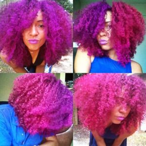 Afro Slay Color Combo