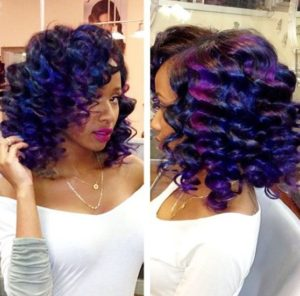 Afro Slay Techno Color