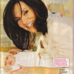 Katey Segal with her child born of surrogate mother