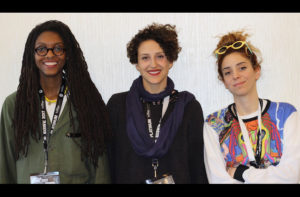 The founders of neurospeculative-afrofeminism-designers-now