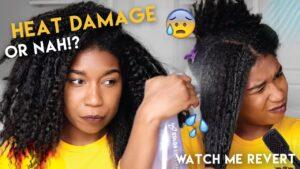 Heat Damage from Hair Dryer